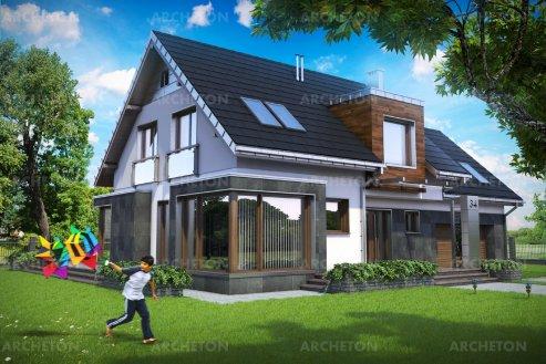 Проект дома Соларис