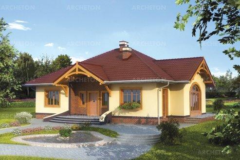 Проект дома Сонатина