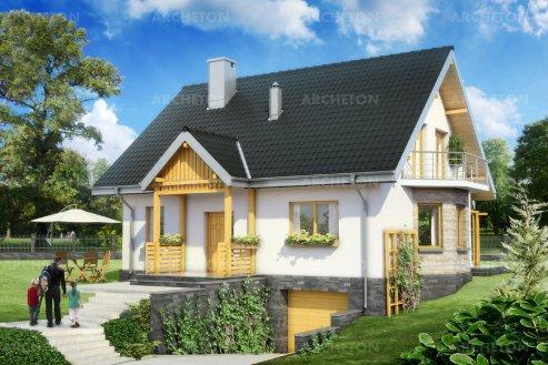 Проект дома Соня