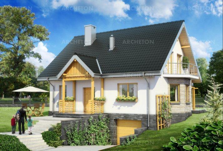 Проект дома Соня - анимации и интерьеры