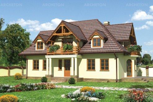 Проект дома Шафран