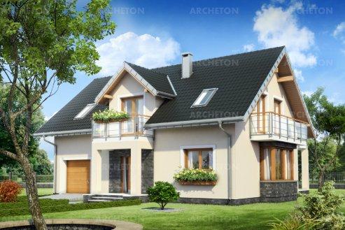 Проект дома Тарот Ату