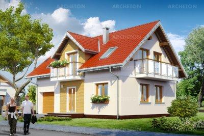 Проект дома Тарот Сто