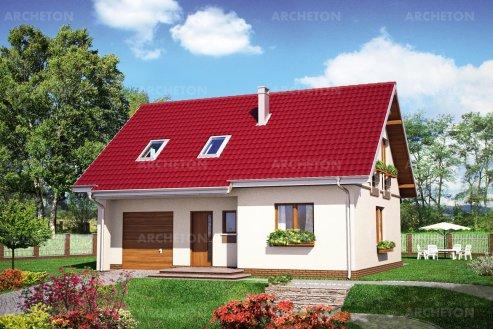 Проект дома Томир