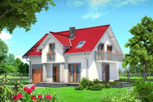 Проект дома Томир Люкс Солис