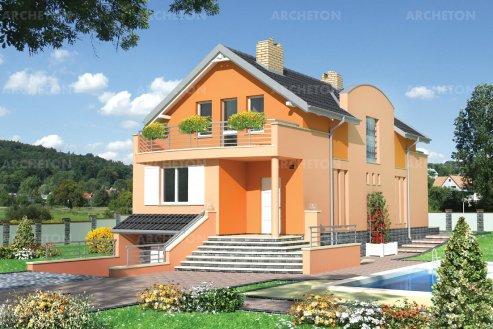 Проект дома Каламбур
