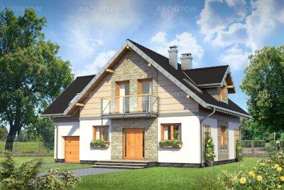 Проект дома Трифон