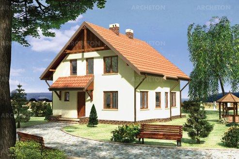 Проект дома Шмель