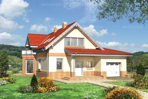 Проект дома Тукан Миди