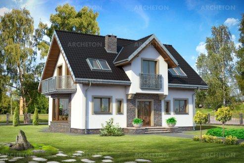 Проект дома Титус