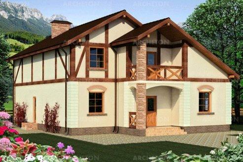 Проект дома Карпатский