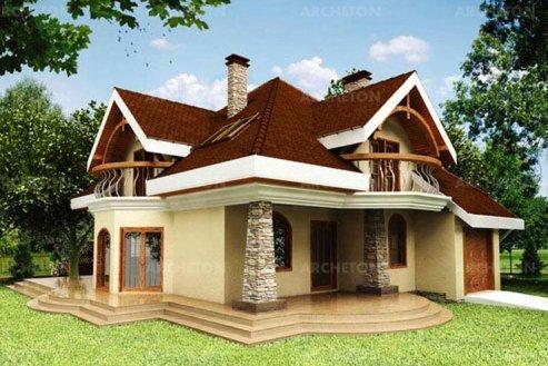 Проект дома Соняшник