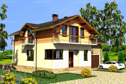 Проект дома Солонка