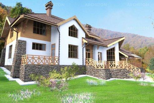 Проект дома Закарпатский
