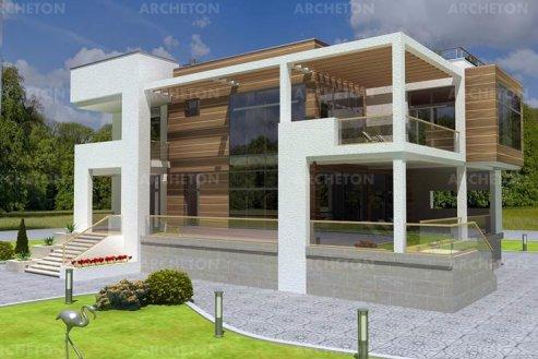 Проект дома Сириус