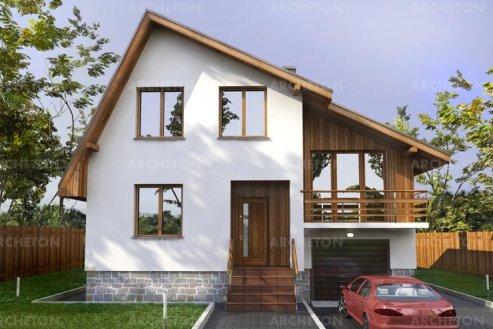 Проект дома ГП-35-10