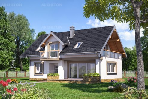 Проект дома Открытка