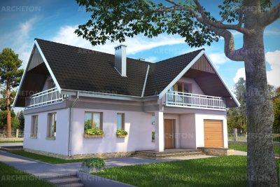 Проект дома Водяной
