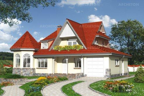 Проект дома Замочек