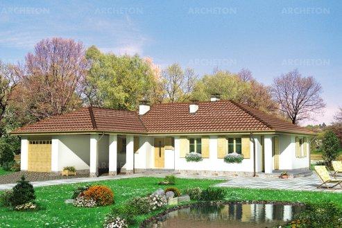 Проект дома Зверобой
