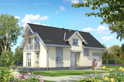 Проект дома Зебра