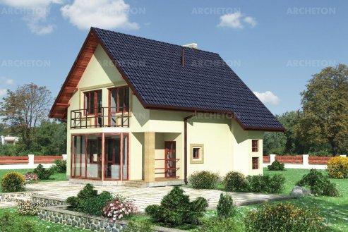 Проект дома Зефир