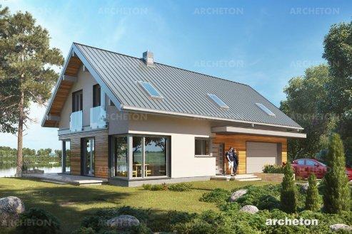 Проект дома Зефир Г2