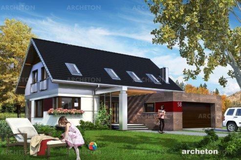 Проект дома Зенон Рекс