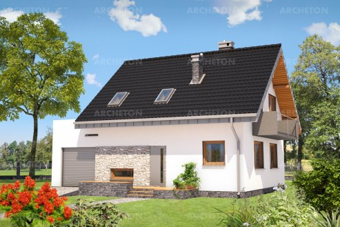 Проект дома Зета
