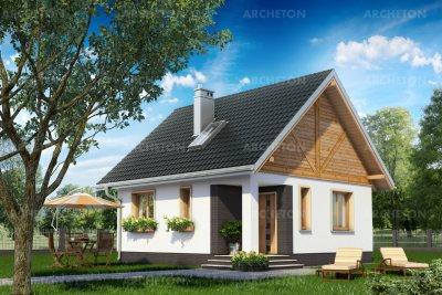 Проект дома Зёрнышко