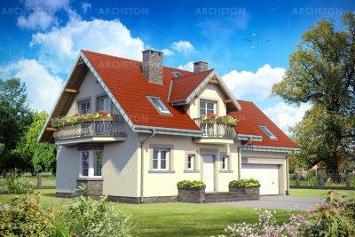Проект дома Софи Прима Г2