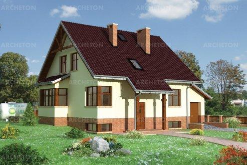 Проект дома Зиновий-2