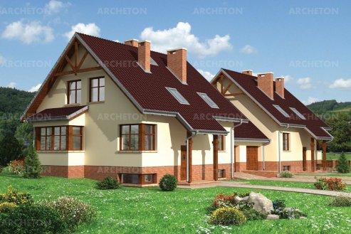 Проект дома Зиновий Дуо