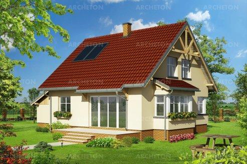 Проект дома Зиновий Эко