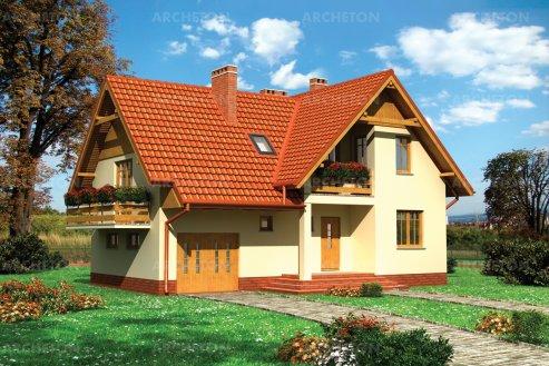 Проект дома Заря - 2